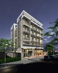 Building 3D Elevation Design & Rendering