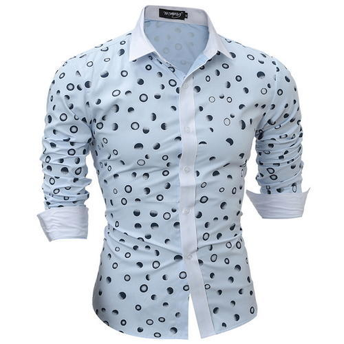 589950d1 Cotton Printed Mens Fancy Casual Shirts, Size: 40, Rs 270 /piece ...