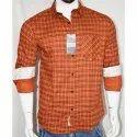 Men Check Designer Shirt