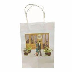 Printed Paper Carry Bags, Capacity: 500 gm