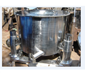 Four Point Manual Top Discharge Centrifuge Machines, Speed: 800-1000 Rpm