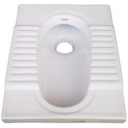 P & S White, Color Indian White Toilet Seat, Packaging Type: Box, 20 And 21