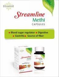 Streamline Methi Capsule, Grade Standard: Medicine Grade, Packaging Type: Bottles