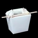 Detpak Pail With Board Handle White