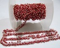 Hydro Quartz Coral Smooth Grape Beaded Chain