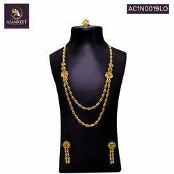 Alankeet  Jewellery Multi Strand Necklace for Women