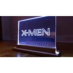 Mirror Acrylic Edge LED Display