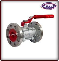 Cast Steel Flange End Ball Valve