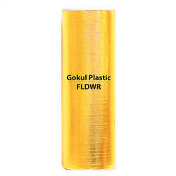 Gokul Plastic Glossy Gold Paper Roll, Pack Size: 100 m