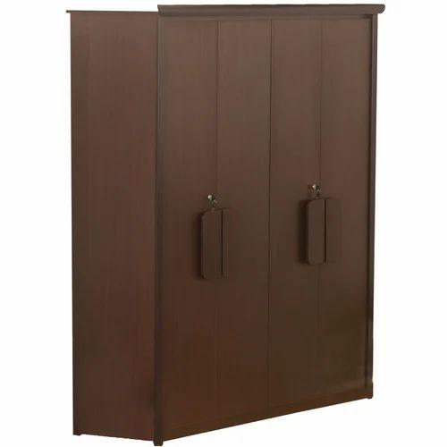 a212ec3651aec 4 Door Wardrobe & American Cherry 4 Door Wardrobe With Mirror