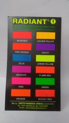 Radiant Matt Oil Base Fluorescent Paint, Packaging Size: 1kg,5 Kg,20/25 Kg, Liquid