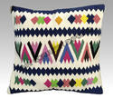 Multicolor Cotton Kilim Cushion