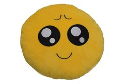 Emoji Smiley Pillow