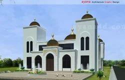 Church Building Architecture Design Service