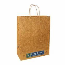 Handmade Printed Paper Bag