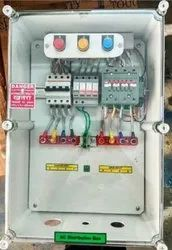 Solar AC Combiner Box 16-20 KW with No Volt Relay, AC SPD, RYB Lamp