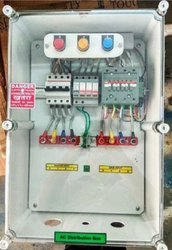 Solar AC Combiner Box 16-20 KW with No-Volt Relay, AC SPD, RYB Lamp