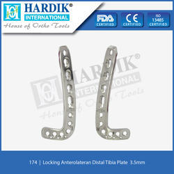 Locking Anterolateran Distal Tibia Plate  3.5mm