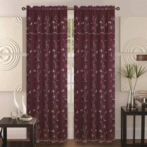 Cotton Printed Modern Trendy Curtains For Window