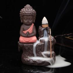 Smoke Buddha Fountain Statue