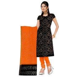 Black Bandhej Suit