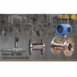 Solvent Digital Turbine Flowmeter