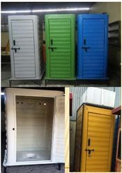 FRP Modular Rural Toilet