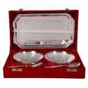 German Silver Bowl Set