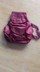 Maroon Girls Bag