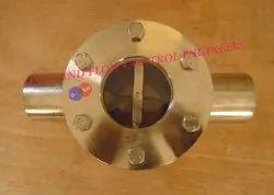 Rotating Wheel Flow Indicator