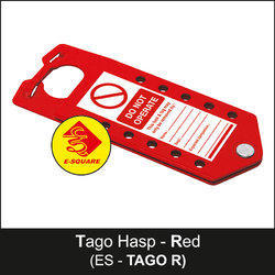 Red Lockout Tago Hasp