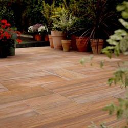 Natural Garden Wooden Decking