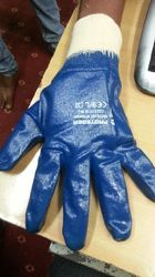 Nitrile Coated Glove With Canvas Wrist