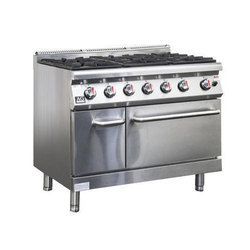 Commercial Six Burner Gas Stove