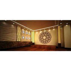 Banquet Hall Interior Designing Service, Work Provided: Wood Work & Furniture