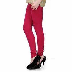 Plain Cotton Ladies Leggings, Size: Small, Medium, Large
