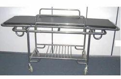 Meditech S.S. Patient Trolley, Size: 203l X 56w X 82h Cms