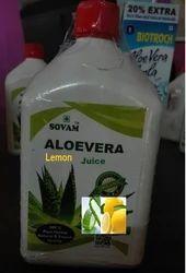 Organic Lemon Aloe Vera Juice
