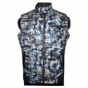 Sleeveless Printed Jacket