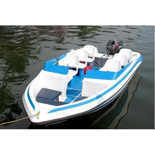 White, Blue FRP Speed Boat, Rs 250000 /piece, Sorbus Marine International Private Limited | ID ...