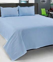 Plain Bed Sheet - Double