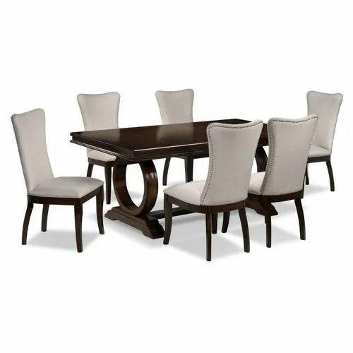 Wooden Designer Dining Room Table Set