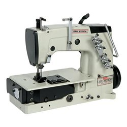 Model: AS 102 HS, Double Needle, Four Thread, High Speed, Chain Stitch Machine For BCS