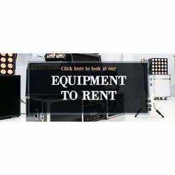 Audio Visual Equipment Rental Service