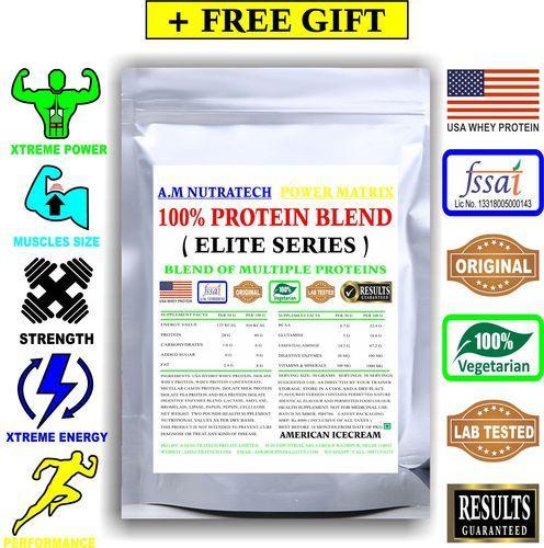 100% Protein Blend, Boost Energy And Muscle Building