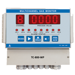 8 Channel Fixed Gas Monitor- Weatherproof