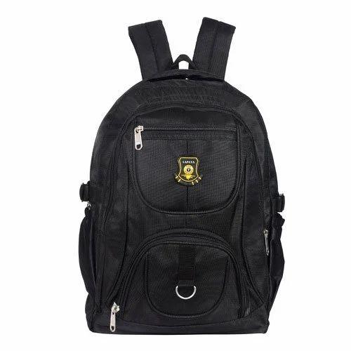988f8939355f Nylon Black Lapaya Laptop Bag   School Bags