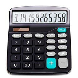 Large Display Basic Calculator