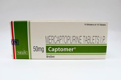 Captomer 50Mg Tablets