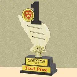 NO 1 Wooden Trophy